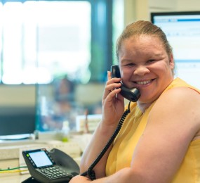 Read more about Zenobia Shelby, The Chicago Lighthouse's Front Desk Attendant