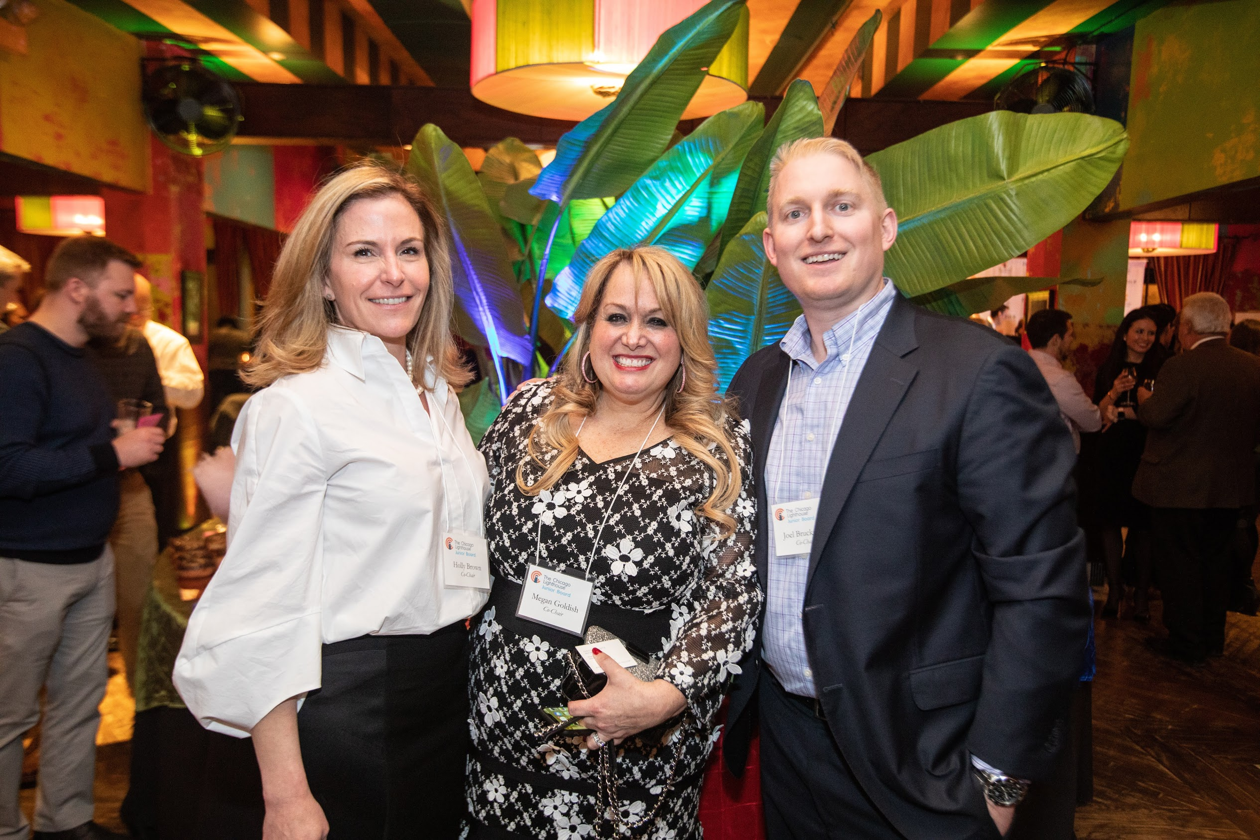 Holly, Joel, and Meg at Sweets for Sight2020