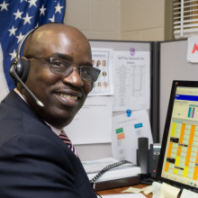 Profile: Michael Smith Veteran and UI Health Call Center Agent image