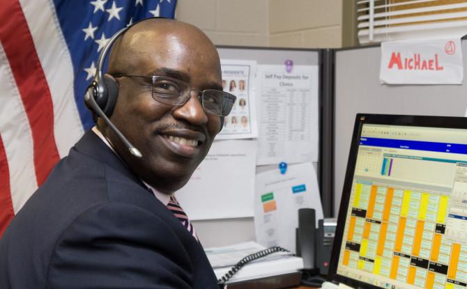 Profile: Michael Smith Veteran and UI Health Call Center Agent