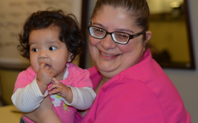 Low Vision Patient Sees Granddaughter's Face – Thanks to Lighthouse Charitable Care