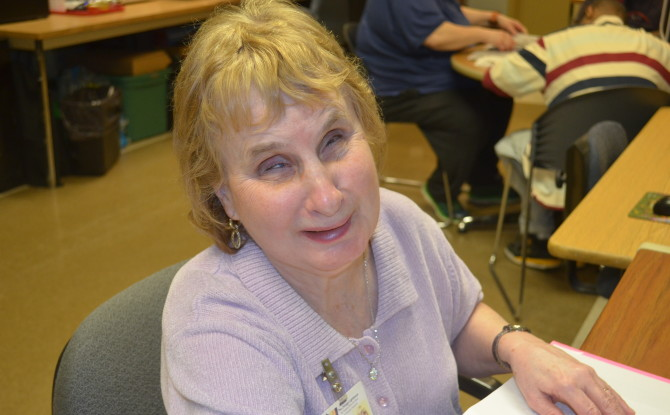 Women's History Month: Profile of Katie Howe, Braille Instructor