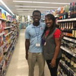 Dwayne at Walgreens with Assistant Manager