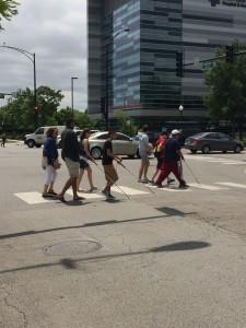 Group street cross