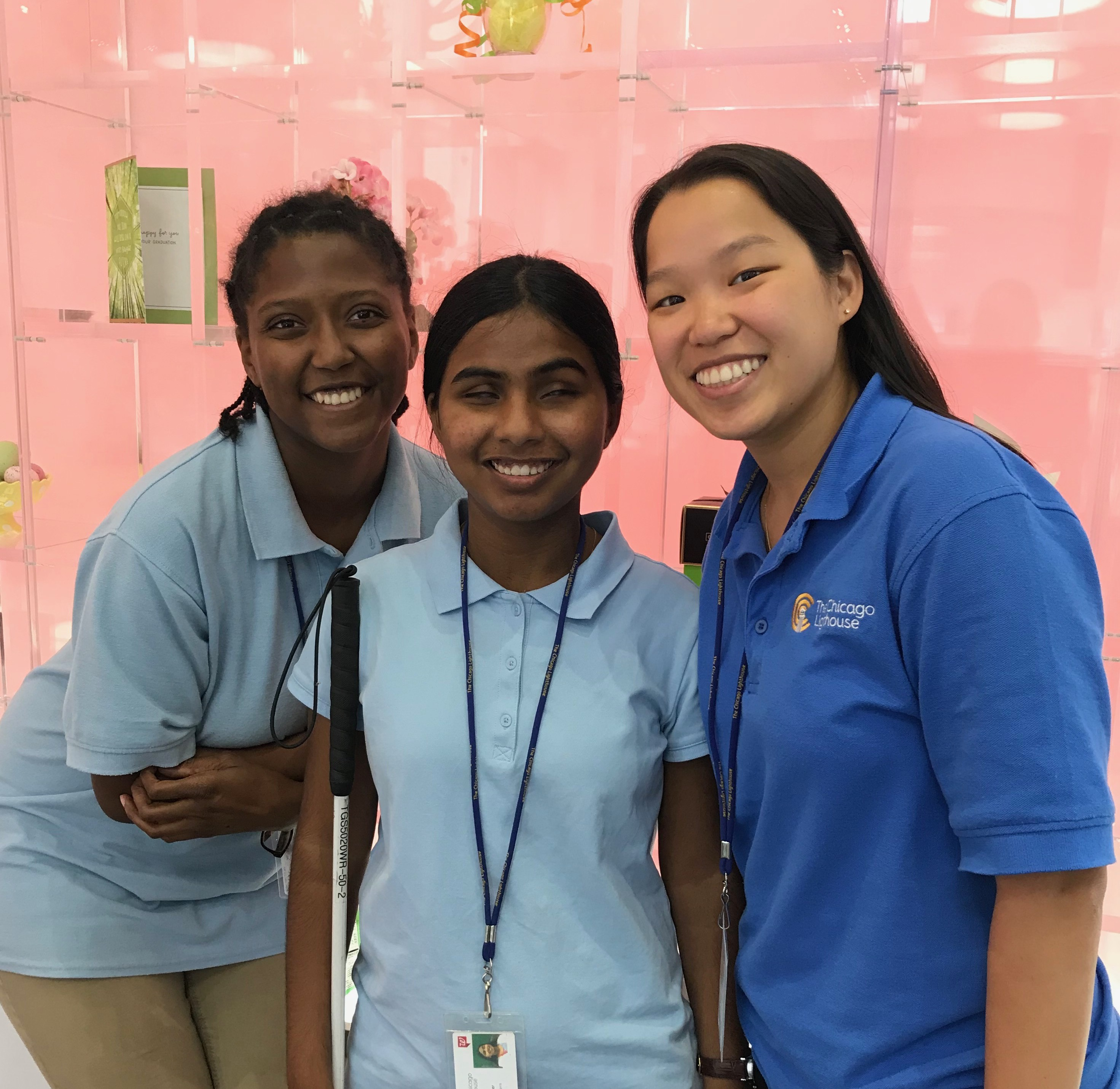 Rupa with Walgreens coworkers