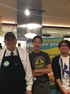 Noel, Steven with Jim from Mariano's
