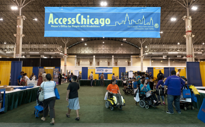 AccessChicago 2016 Highlights for People with Vision Loss