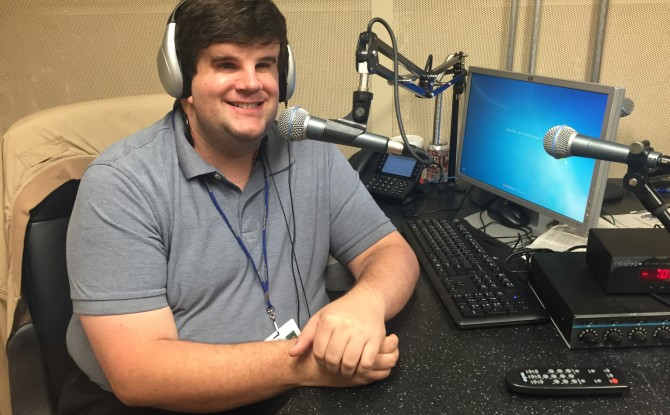 Production Intern, Visually Impaired, Gets Career Boost at Lighthouse