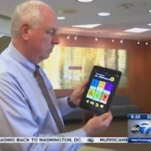 Beacon technology at The Lighthouse – ABC 7 Chicago image