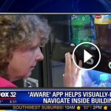 'Aware' app Hopes to Change the Game for the Visually Impaired – FOX 32 image