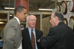 Barack Obama, Joel Kaplan and Jim Kesteloot