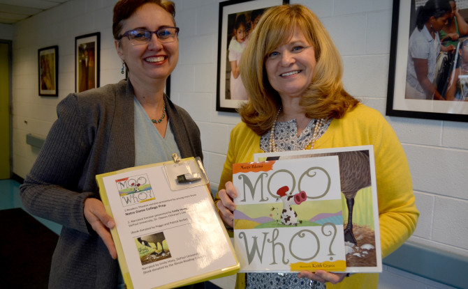 Special Children's Books Donated to Lighthouse