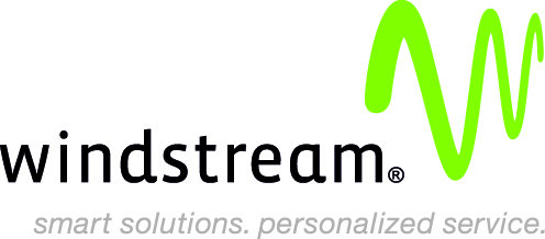 "Windstream logo ""smart solutions. personalized service."""