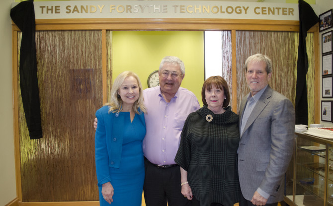 Pioneer Press profiles our new Sandy Forsythe Assistive Technology Center