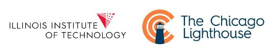 Illinois Institute of Technology and The Chicago Lighthouse logos