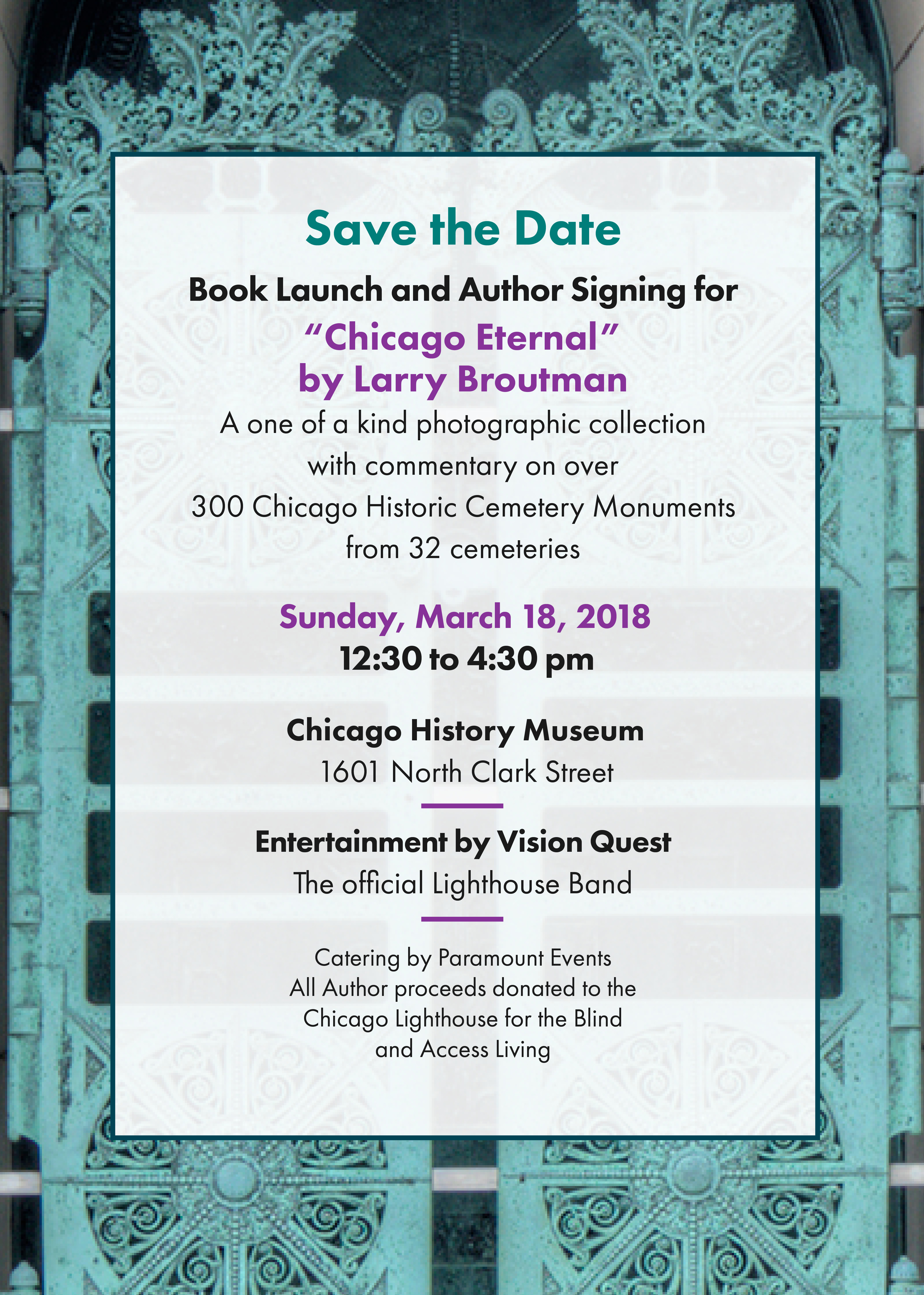 Chicago Eternal SAVE THE DATE
