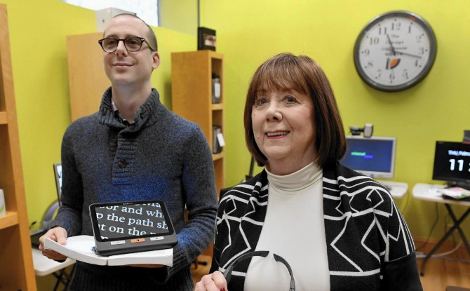 Sandy Forsythe Assistive Technology Center Profiled in Pioneer Press