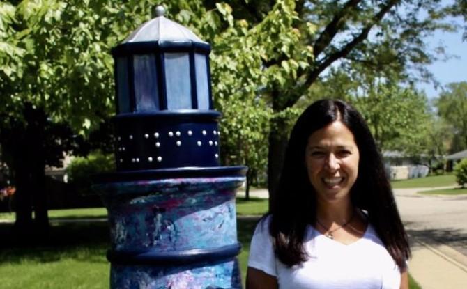 Mag Mile Sculpture Artist Hillary Laff-Meyers Interview – Deerfield Review