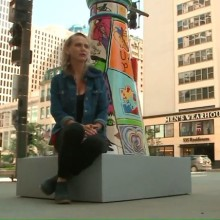 """Lighthouses on Mag Mile Reflect Artists' Personal Journey with Disabilities"" – WGNTV image"