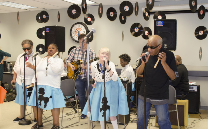 VisionQuest Jams with Performers from Hit Buddy Holly Play