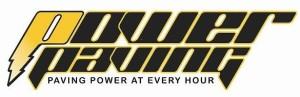 Logo for Sweets for Sight sponsor Power Paving.