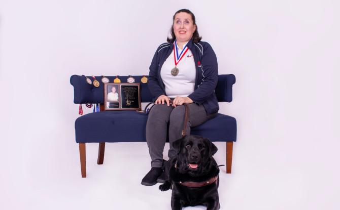 Patient in Lighthouse's Pangere Center Excels at Gymnastics despite Visual Impairment
