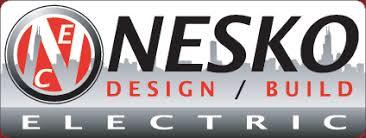 Nesko logo: design, build, electric