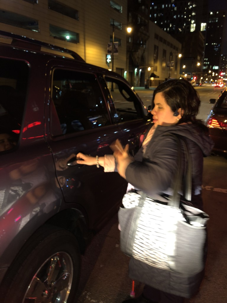 Sandy enters Uber