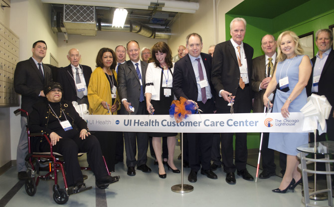 Lighthouse Dedicates New UI Health Customer Care Center
