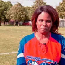 Chicago Comets & Lighthouse Employee Who's Team Captain Profiled on ABC 7 image