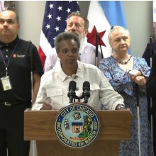 Watch a video about ABC 7 Covers Mayoral Press Conference at Lighthouse...