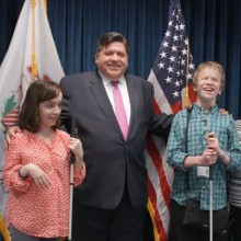 Watch a video about Summer Interns Interview Governor JB Pritzker