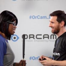 OrCam Brings Messi, Lighthouse Superstar Together image