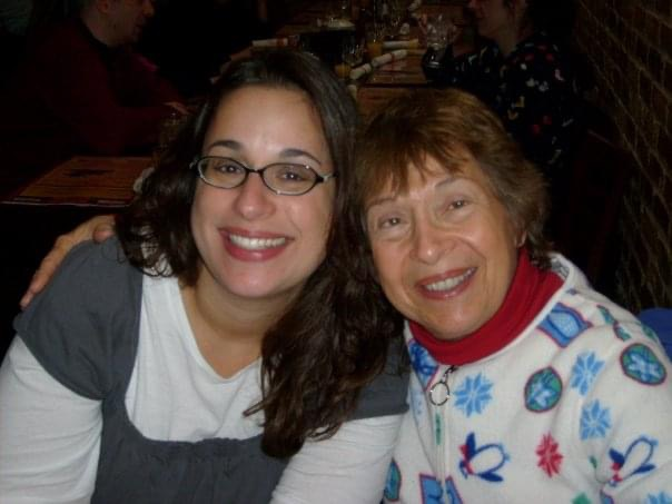 Melissa Wittenberg from the Lighthouse North and her mother, Lois, who participates in the seniors program