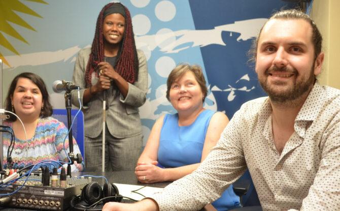 "Media blogger Robert Feder highlights ""The Disability Minute"""